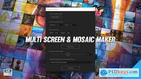 Mosaic & Multiscreen Maker Auto V4 19277984