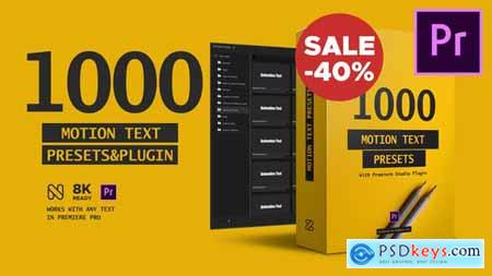 Text Presets Premiere Studio Plugin 23658204