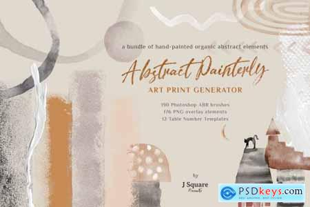 Abstract Watercolor PSD Brushes 4604610
