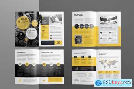 Company Profile, Word Template 4445783