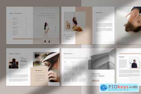 Light Creative Portfolio Brochure 4444948