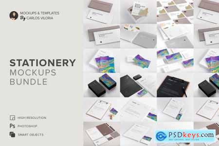 Stationery Mockups Bundle 4714969