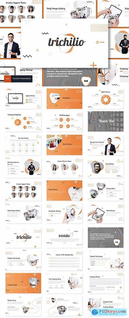 Barilion - Powerpoint, Keynote and Google Slide Template553