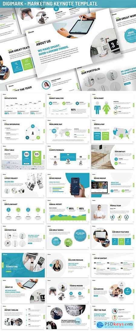 Digimark - Marketing Keynote Template