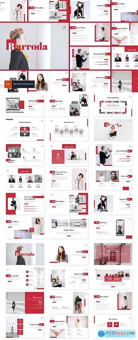 Barroda - Powerpoint, Keynote and Google Slide Template
