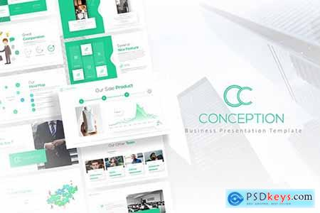 Conception - Business PowerPoint Template