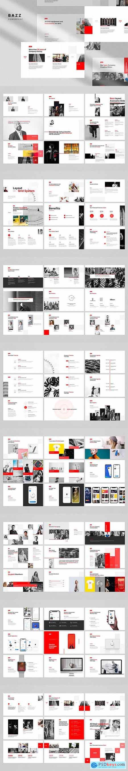 BAZZ Powerpoint and Keynote Template