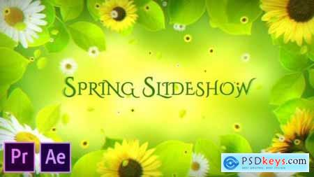 Spring Slideshow Premiere Pro 26205325
