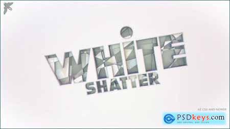 White Shatter Logo 26141371