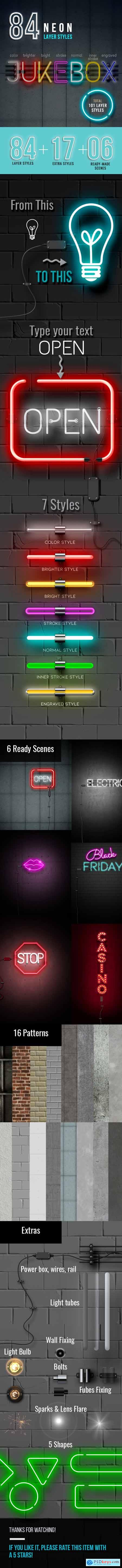Neon Sign Styles Creator 23937432