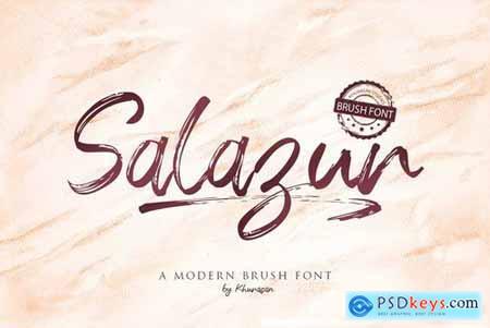 Salazur Brush Font 4746349