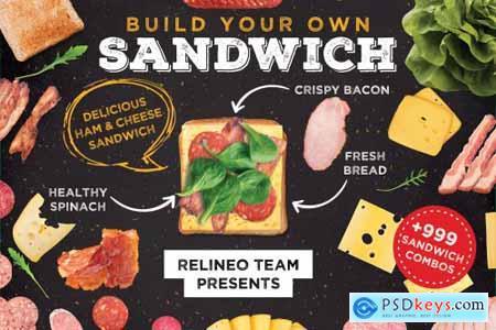 Sandwich Builder - Creator 3187559