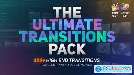 The Ultimate Transitions Pack Final Cut Pro X & Apple Motion 26158295