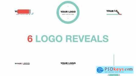 Logo Reveal Pack Flat Style 8204350