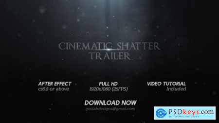 Cinematic Shatter Trailer Title Broken Trailer Epic Trailer Intense Trailer 25876415