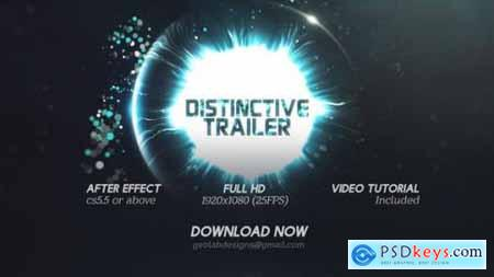 Distinctive Cinematic Trailer Particles Lights Trailer Particles Waves Trailer 26114886