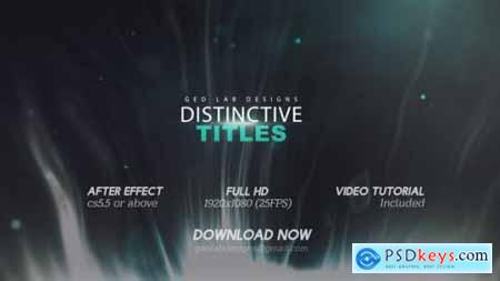 Distinctive Titles Particles Lights Titles Lines Waves Titles 26139940
