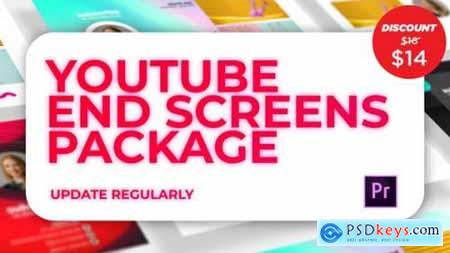 Youtube End Screens Pack 24604629