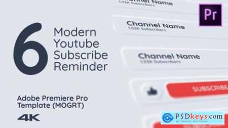 Modern Youtube Subscribe Pack 25872212