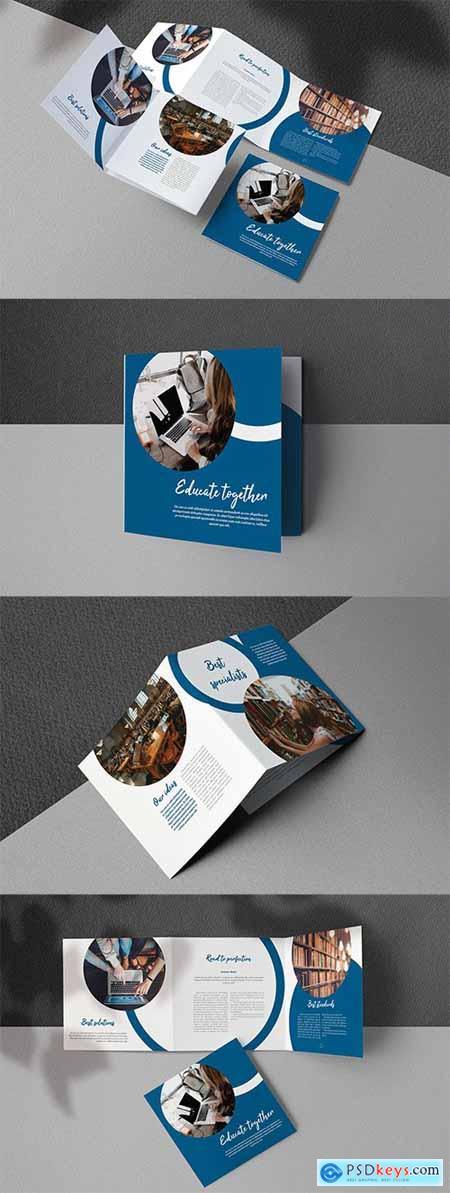 Education Square Trifold Brochure