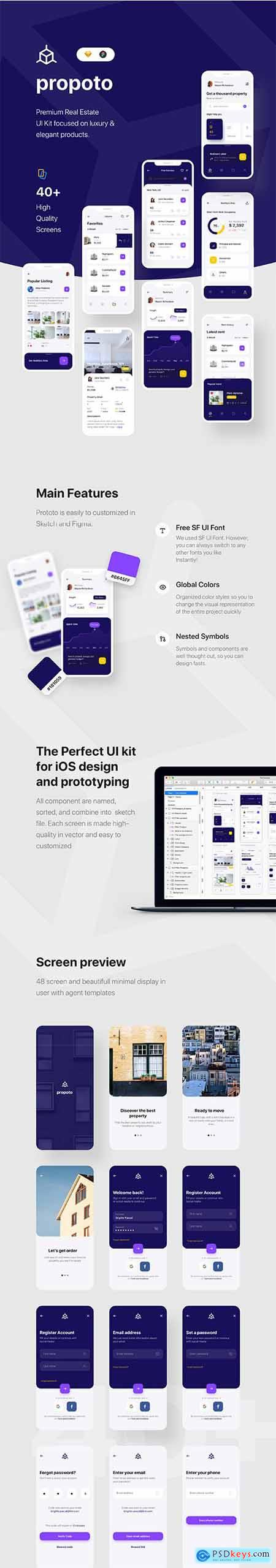 Propoto UI Kit