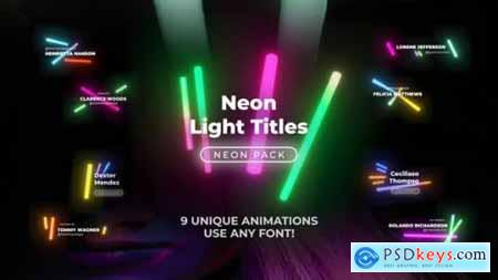 Neon Light Titles 5 26192826