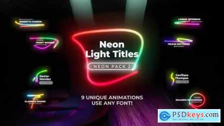 Neon Light Titles 2 26190762