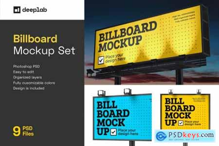Billboard Mockup Set 4774316