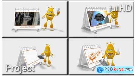 Cartoon 3D Promote 4238219