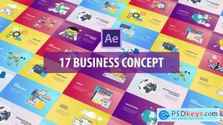 Business Concept Flat Animation 26215742