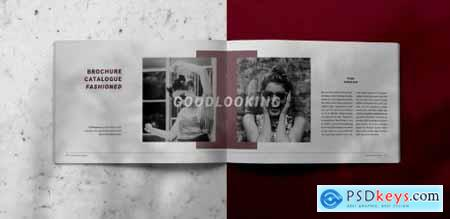 Fashioned Indesign Brochure Catalogue Template