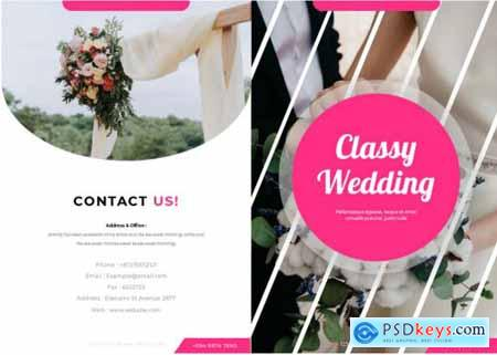 Classy Wedding Brochure