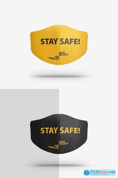 Face Protection Mask Mockup 334820953