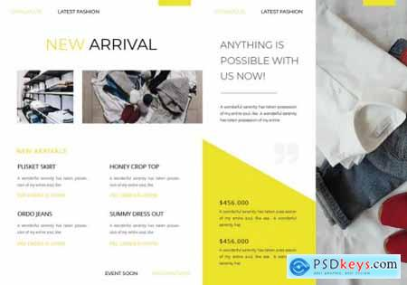 ClothStore Brochure Template