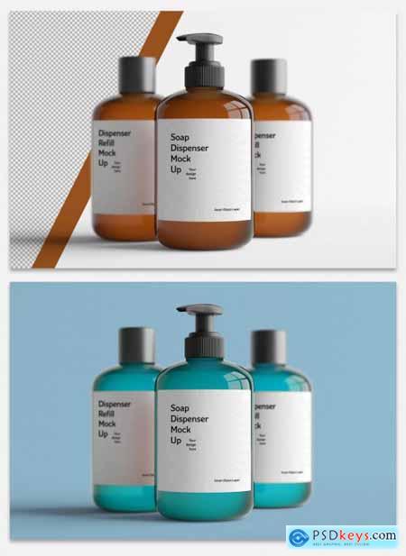Cosmetic Bottles Mockup 335101858