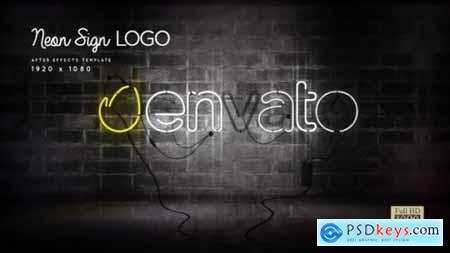 Neon Sign Logo 24695190