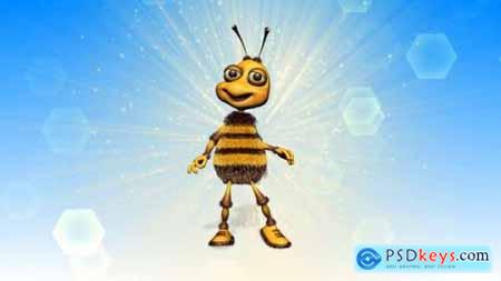 Happy Bee Logo Reveal 18522778