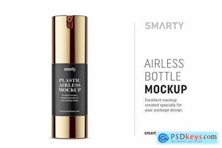 Airless bottle mockup 30ml 4708233