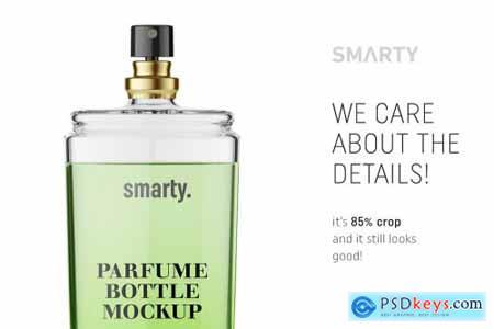 Parfume bottle mockup 4707450