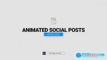 Animated Social Posts 26001764