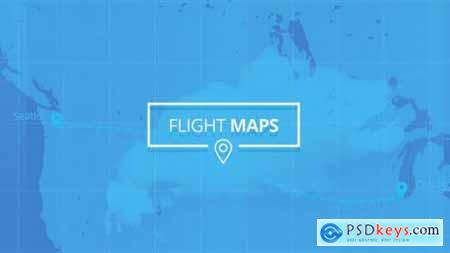 Flight Maps Visualize Where You're Travelling V1.5 19411390