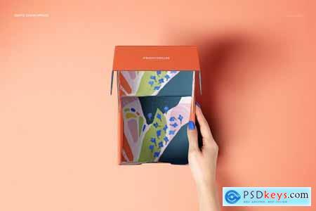Front Tuck Mailer Box Mockup Set 01 4351625