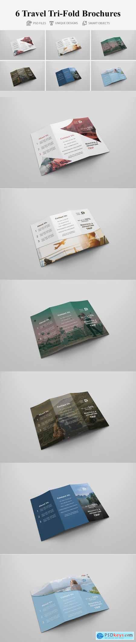 Travel Tri-fold Brochures 4401680