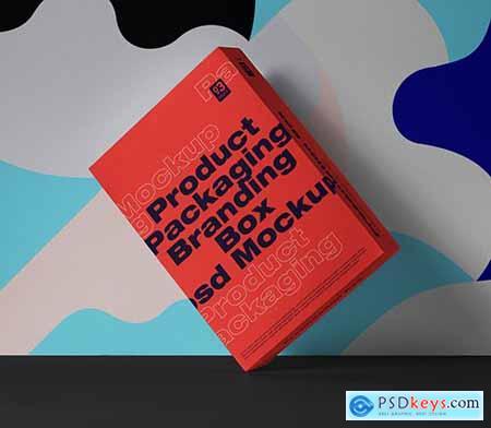 Box Psd Packaging Mockup