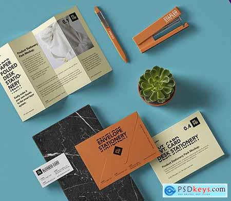 Stationery Elements Mockup