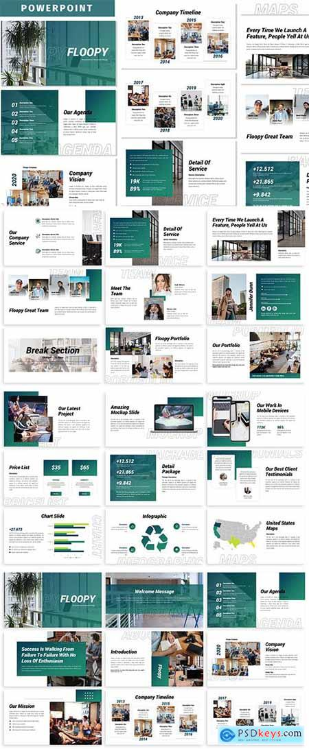 Floopy - Business Powerpoint Template