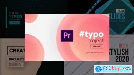 Unique Typography- Premiere Pro 26245757