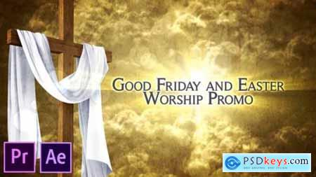 Good Friday and Easter Worship Promo Pack Premiere Pro 26259506