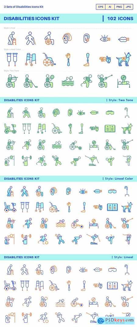 Disability Icon Kit