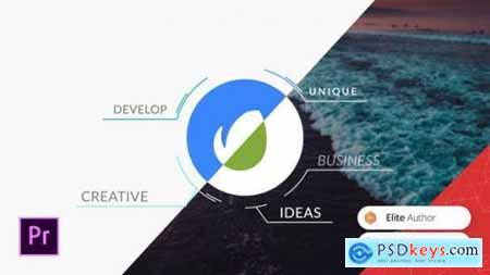 Corporate Circle Logo Reveal Premiere Pro Template 26182295